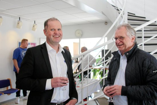 Veltec has just turned 50 years old. It was celebrated on Thursday at the company's headquarters in Ringsted.