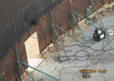 Lagertank renovering Inter Terminals