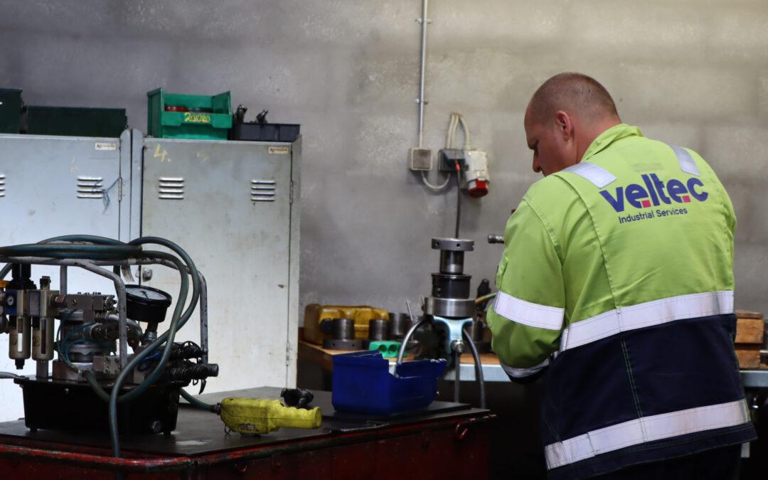 Kontrolleret boltespænding Køge Kraftvarmeværk