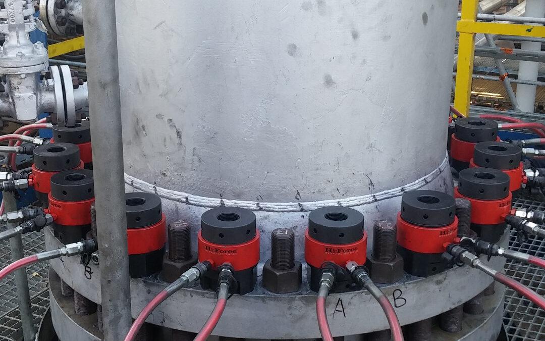 Kontrolleret boltespænding Gas Storage Denmark – Stenlille