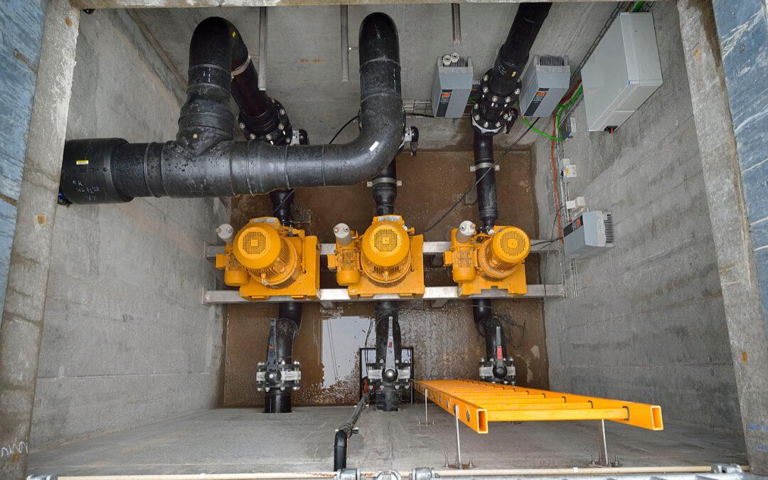 Mobil maskinbearbejdning Køge Kraftvarmeværk