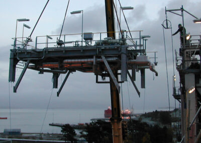 Udskiftning af eksisterende rørinstallation Equinor Kalundborg
