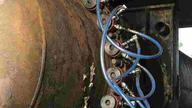 Kontrolleret boltespænding ST1 Raffinaderi AB